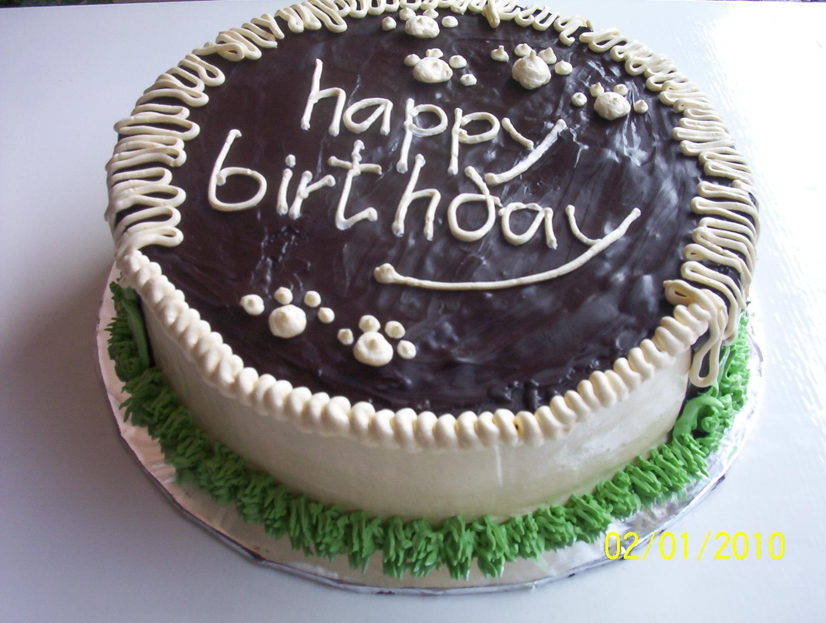 Bday Cake Coklat A Desha Cake